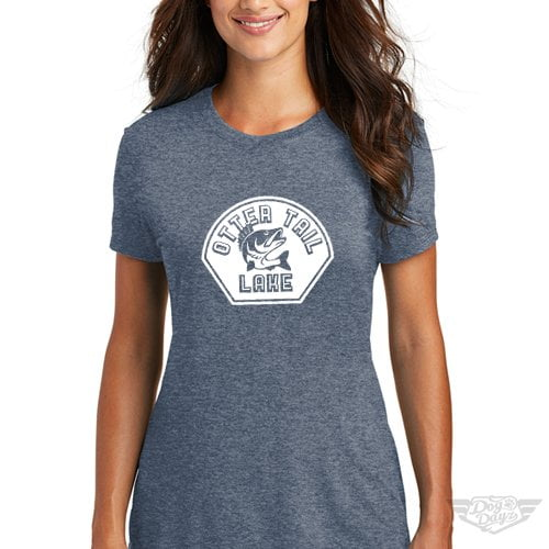 DogDayz Apparel - Tee Otter Tail - Women - Navy Frost
