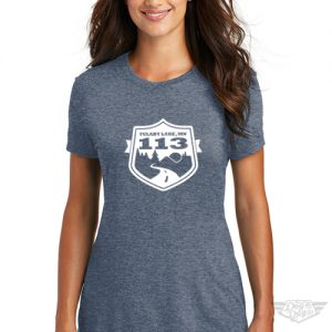 DogDayz Apparel - Tee Tulaby 113 - Women - Navy Frost