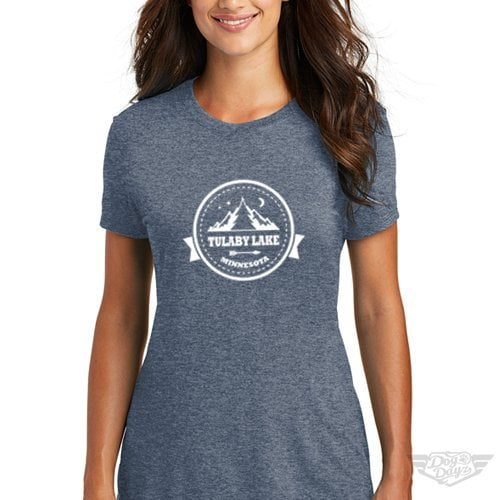 DogDayz Apparel - Tee Tulaby - Women - Navy Frost