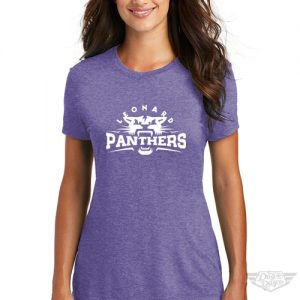 DogDayz Apparel - Tee - Leonard Panthers - Women - Purple Frost
