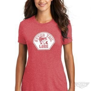 DogDayz Apparel - Tee Otter Tail - Women - Red Frost