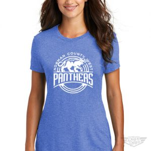 DogDayz Apparel - Tee - Norman County West Panthers - Women - Royal Frost