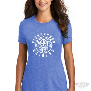 DogDayz Apparel - Tee - Richardson Raiders - Women - Royal Frost