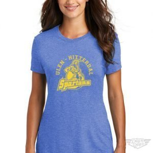 DogDayz Apparel - Tee - Ulen Hitterdal Spartans - Women - Royal Frost