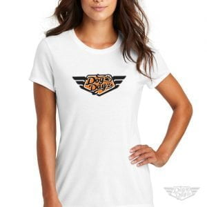 DogDayz Apparel - Tee - DogDayz - Women - White Orange