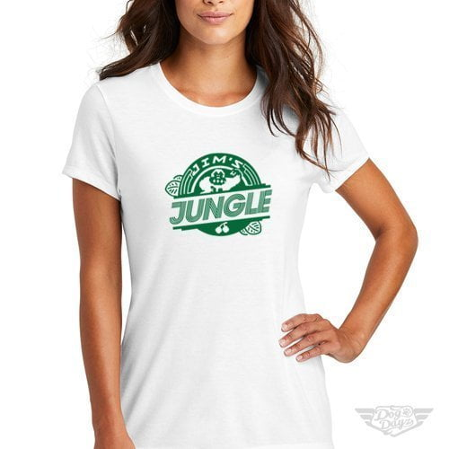DogDayz Apparel - Tee -Jims Jungle - Women - White