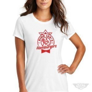 DogDayz Apparel - Tee -King Leos - Women - White
