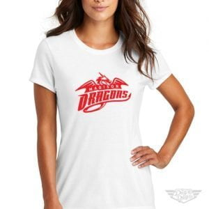 DogDayz Apparel - Tee - Madison Dragons - Women - White