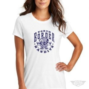 DogDayz Apparel - Tee - North Border Bandits - Women - White