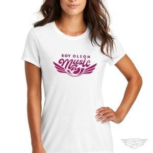 DogDayz Apparel - Tee - Roy Olson Music - Women - White
