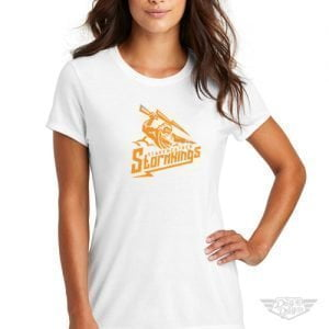 DogDayz Apparel - Tee - Starkweather Stormkings - Women - White