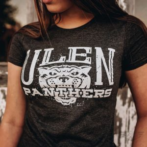 DogDayz Apparel - Tee - Ulen Panthers - Women - Black