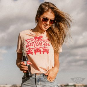 DogDayz Apparel - Tee -Safari Drive-In - Women -