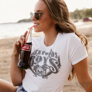 DogDayz Apparel - Tee - Backwoods Boys - Women - White